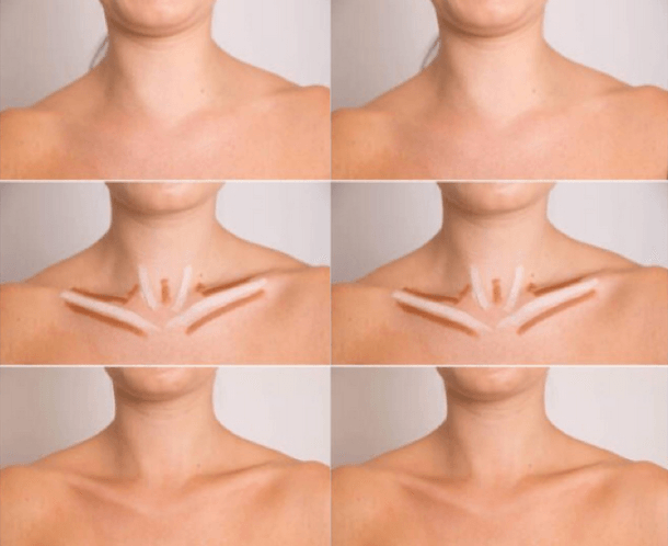 so now there's a way to contour your collarbonebeautifully brown, Cephalic Vein